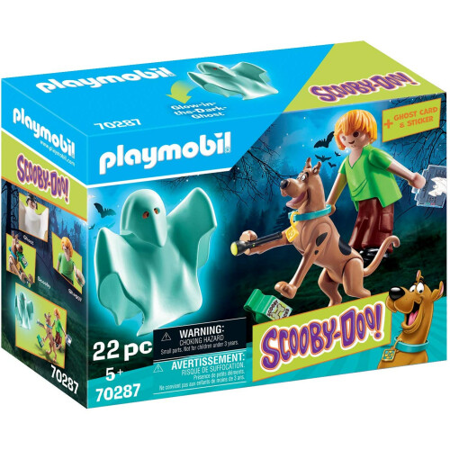 Playmobil 70287 Scooby-Doo Scooby and Shaggy with Ghost
