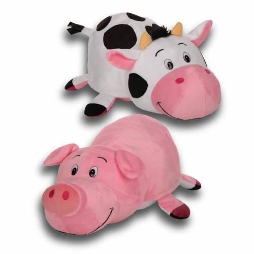 "FlipaZoo 16"" Plush - Pig / Cow"