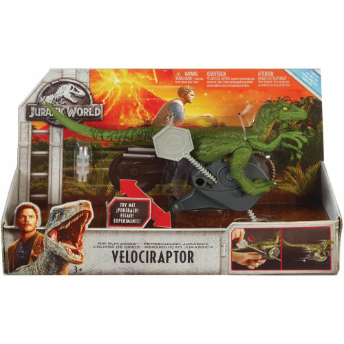 Jurassic World Rip-Run Dinos - Velociraptor