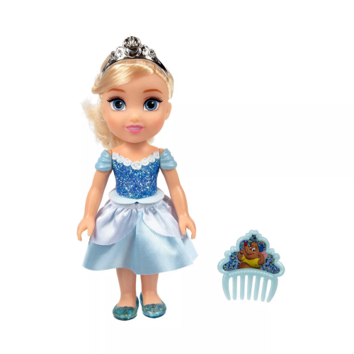 Disney Princess - Petite Glittered Cinderella & Comb