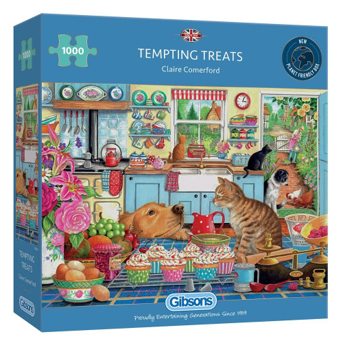 Gibsons Tempting Treats 1000pc Puzzle