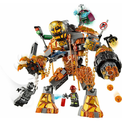 Lego 76128 Spider-Man Far From Home Molten Man Battle