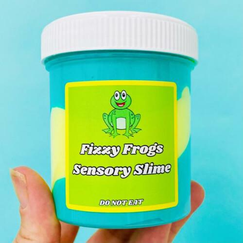 Sensory Slime - Fizzy Frog Slime