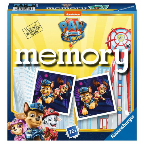 Ravensburger Mini Memory Game Paw Patrol: The Movie