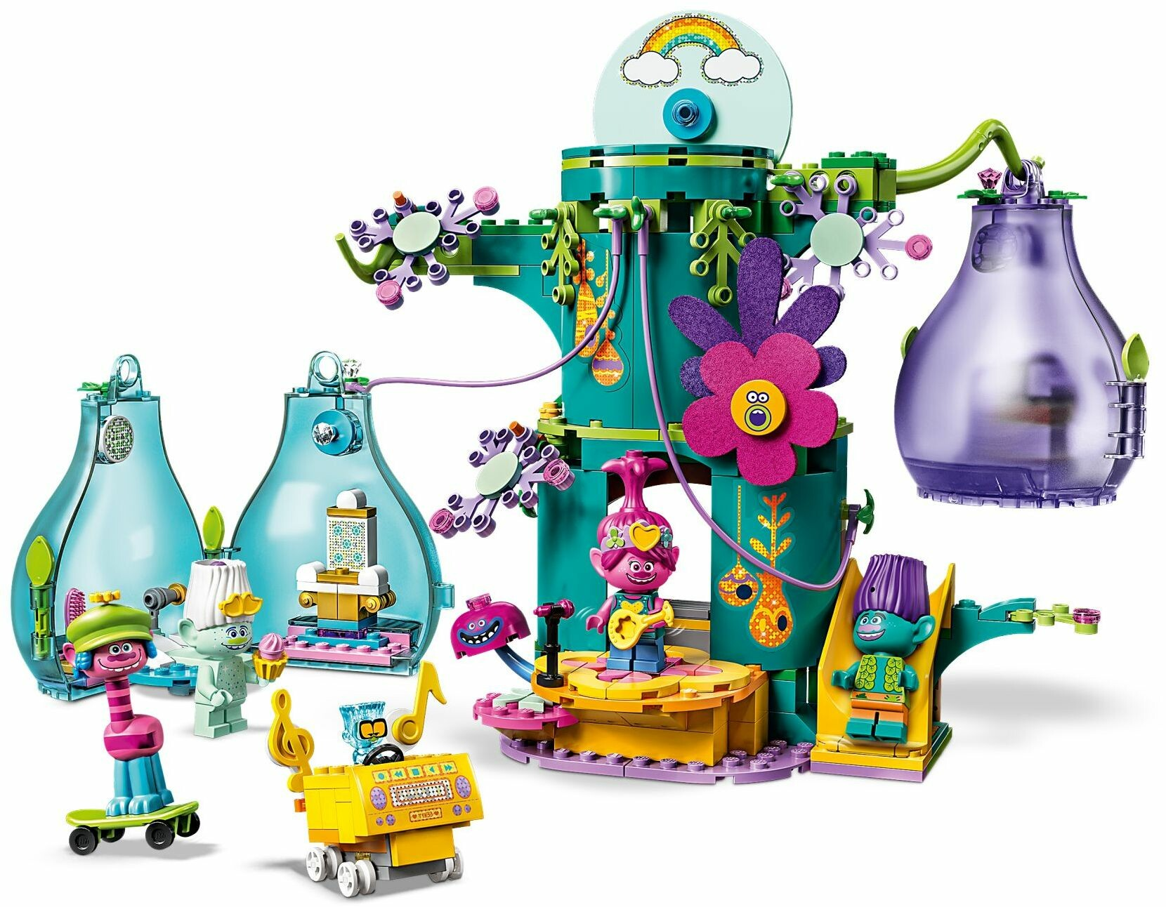 Lego 41255 Trolls World Tour Pop Village Celebration Toys N Tuck