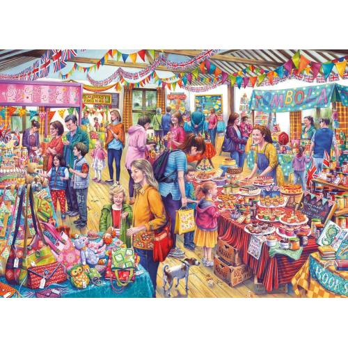 Gibsons Village Tombola 1000pc