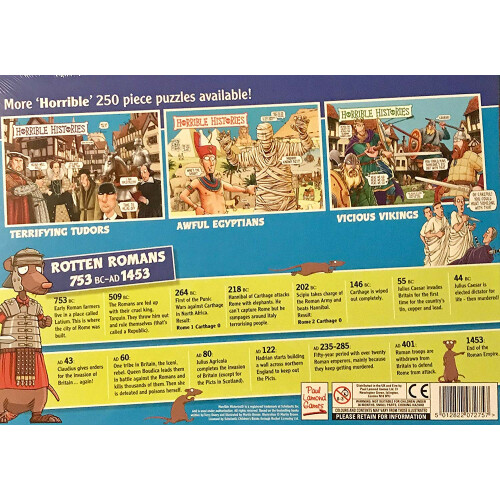 Horrible Histories - Rotten Romans 250pc Puzzle