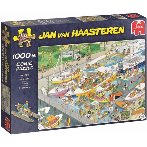 Jan Van Haasteren The Locks 1000pc Jigsaw Puzzle