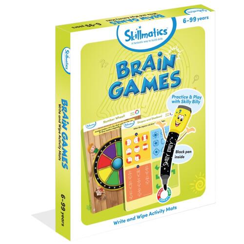 Skillmatics Activity Mats - Brain Games