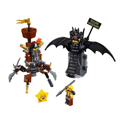 Lego 70836 Lego Movie 2 Battle-Ready Batman and MetalBeard