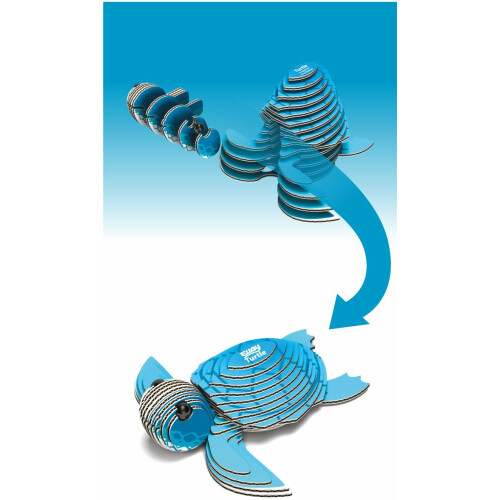 Eugy - 3D Model Craft Kit - Turtle