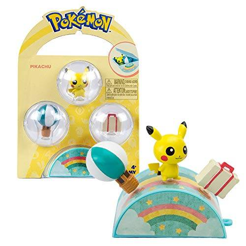 Pokemon Petite Pals Playset - Pikachu