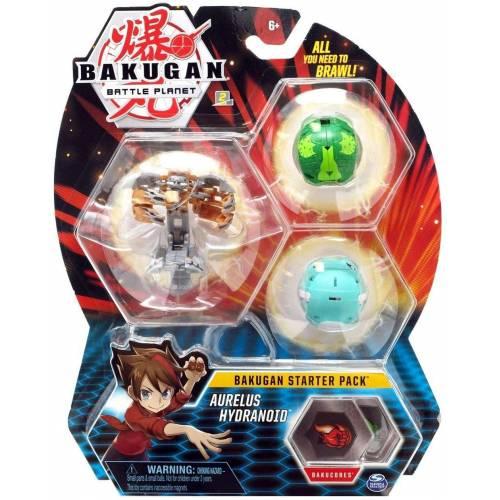 Bakugan Starter Pack - Aurelus Hydranoid