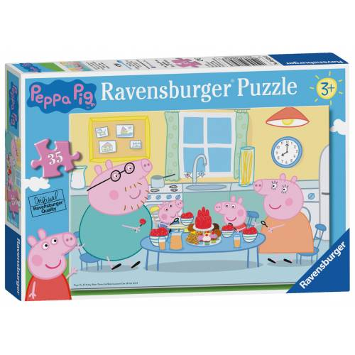 Ravensburger 35pc Peppa Pig Family Time