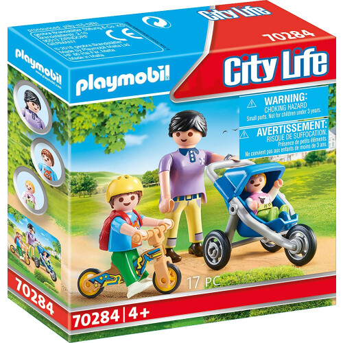 Playmobil 70284 City Life Mother With Children