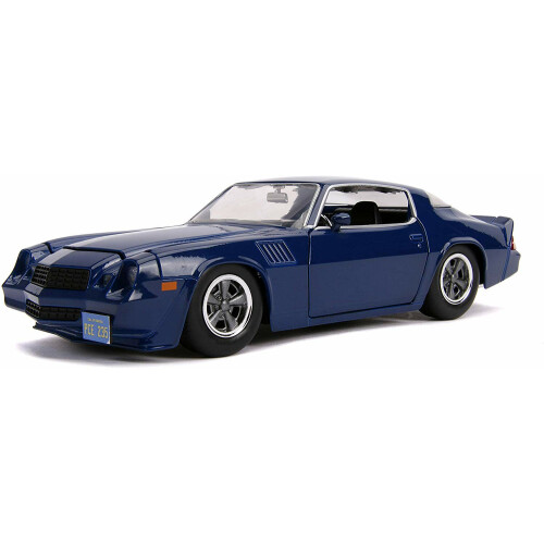 Stranger Things Chevy Camaro Z28 1:24 Die Cast