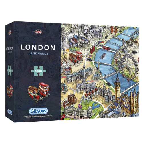 Gibsons London Landmarks 1000pc Puzzle