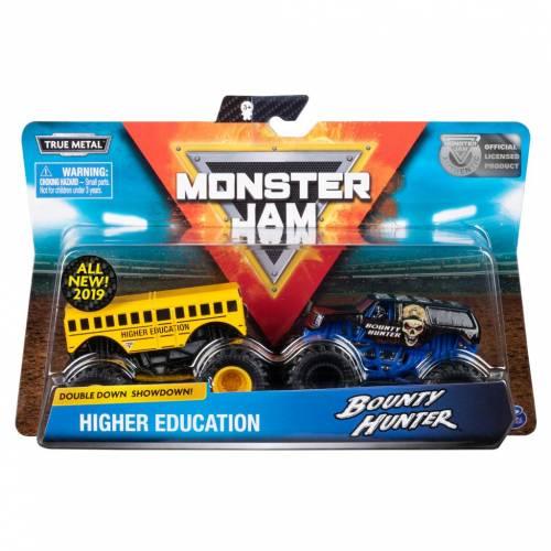 Monster Jam - 2 Pack - Higher Education vs Bounty Hunter