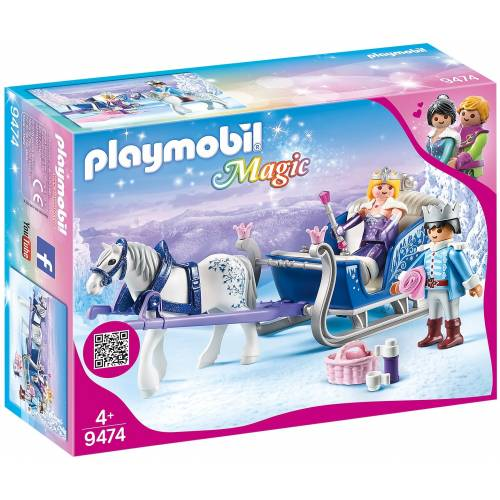 Playmobil 9474 Sleigh with Royal Couple