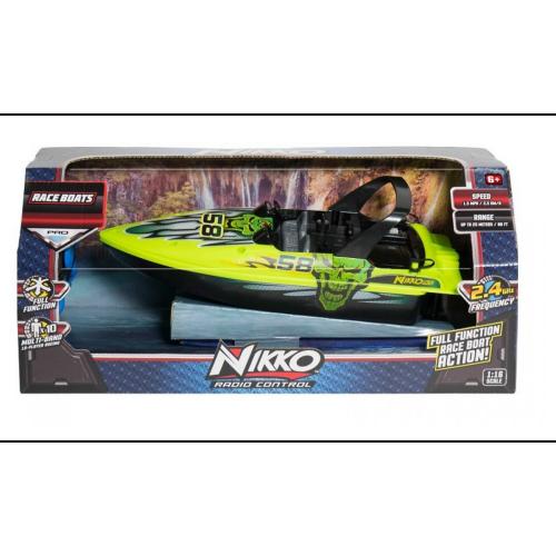 Nikko 1:16 Energy Green #58 Race Boat