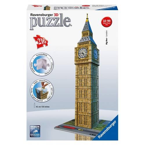 Ravensburger 216 Pc 3D Jigsaw Puzzle Big Ben