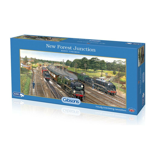 Gibsons New Forest Junction 636pc Puzzle