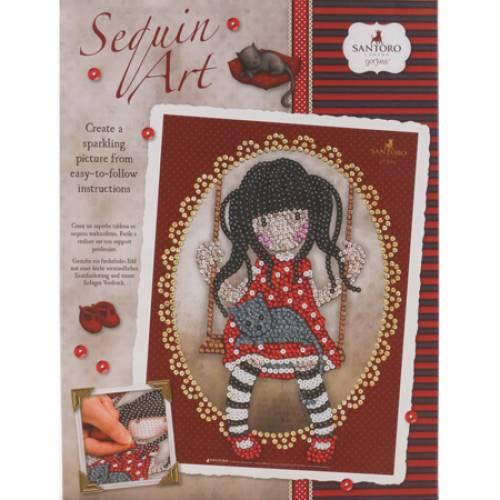 Sequin Art Limited. Sequin Art Gorjuss Ruby  1713