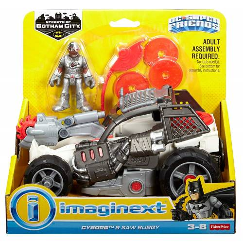 Imaginext DC Super Friends Cyborg & Saw Buggy