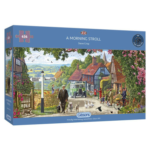 Gibsons A Morning Stroll 636pc Puzzle