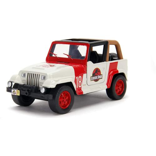 Jurassic World Jeep Wrangler 1:32 Die Cast