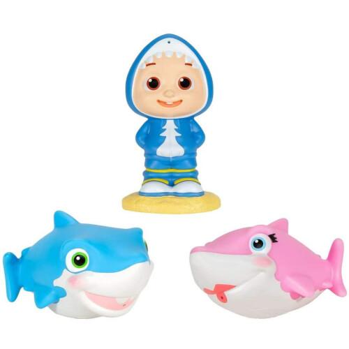 Cocomelon Bath Squirters - JJ, Sharks