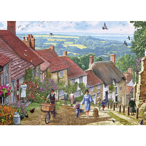 Gibsons 1000 Piece Jigsaw Puzzle - Gold Hill