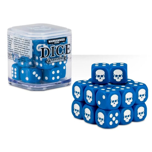 Warhammer Accessories - Citadel Dice Cube: Blue