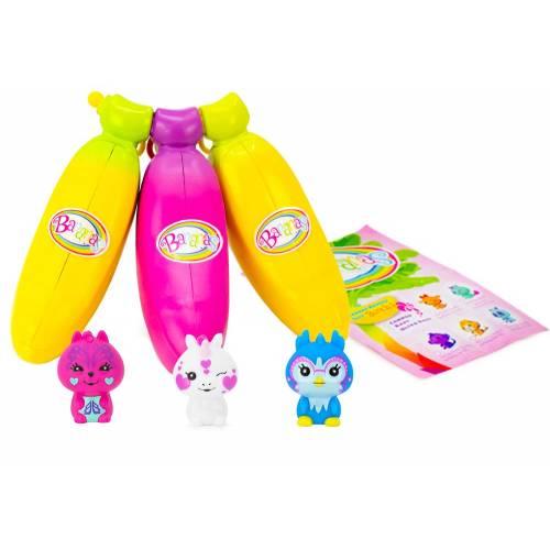 Bananas 3 Pack - Yellow, Pink, Yellow