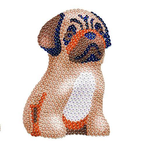 Sequin Art Limited. Sequin Art 3D Pug 1702