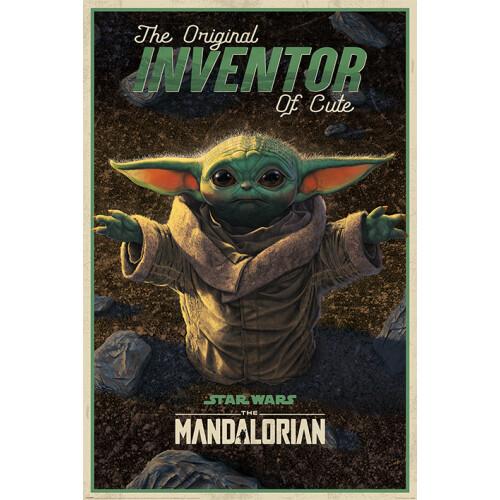 Maxi Posters - Star Wars: The Mandalorian (The Original Inventor of Cute)