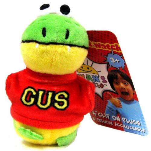 Ryan's World Clip On Plush - Gus the Gummy Gator