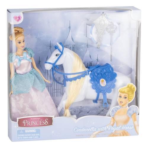 Fairytale Princess - Cinderella with Royal Horse