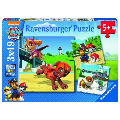 Ravensburger 3 x 49pc Puzzles Paw Patrol