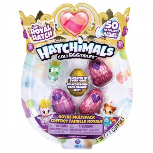 Hatchimals Colleggtibles - The Royal Hatch - 4-Pack