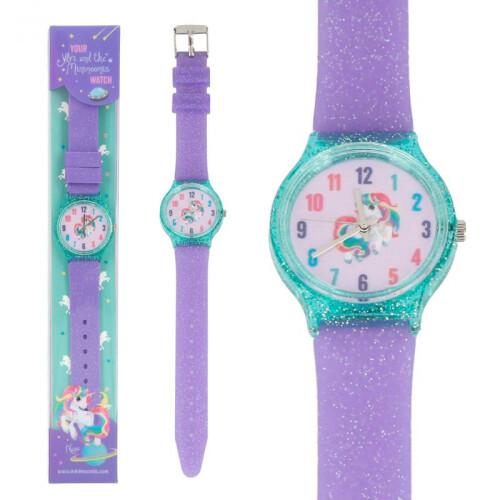 Depesche Ylvi & the Minimoomis Silicone Watch - Purple