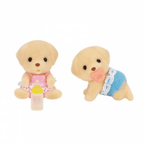 Sylvanian Families Yellow Labrador Twins