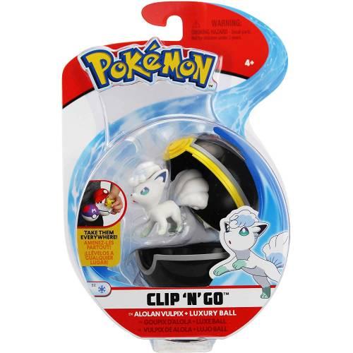 Pokemon Clip 'n' Go - Alolan Vulpix & Luxury Ball