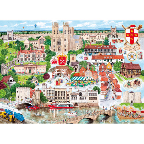 Gibsons York 1000pc