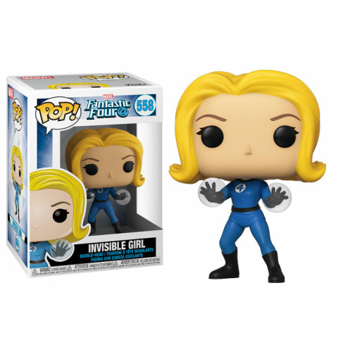 Funko Pop Vinyl - Fantastic 4 - Invisible Girl 558