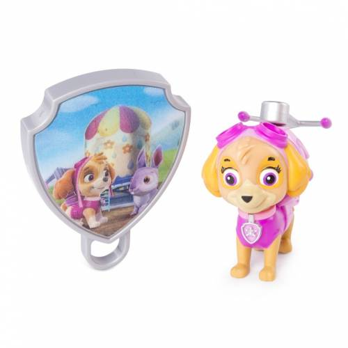 Paw Patrol Action Pack Pup with Extendable Hook and Badge - Skye