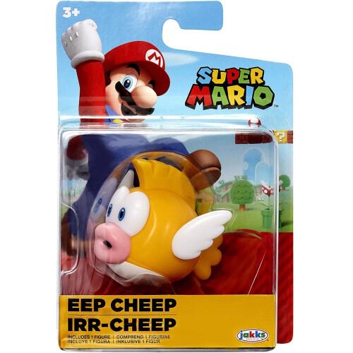 Super Mario 2.5 Inch Figures - Eep Cheep