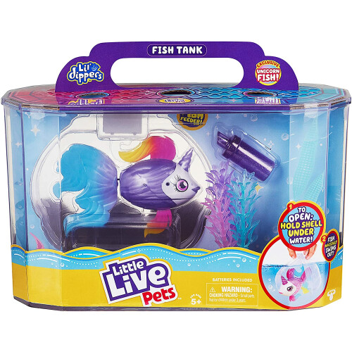 Little Live Pets Lil' Dippers - Fish Tank