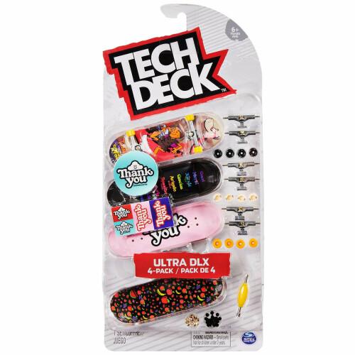 Tech Deck - Ultra DLX 4-Pack - Thank You