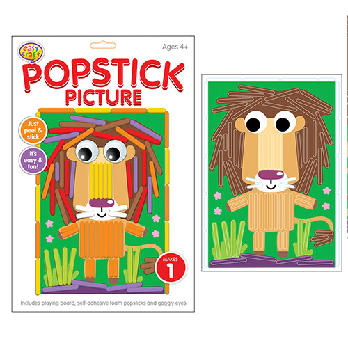 Kreative Kids - Popstick Picture Lion
